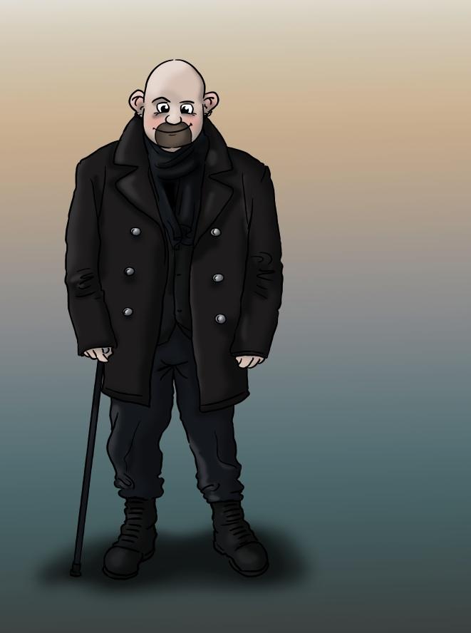 Ich bin Vladi. Künstler und Illustrator.