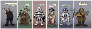 Cosplay Star Wars Vladi