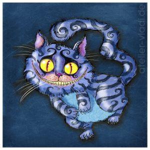 Alice Wunderland Cheeshire Cat Grinsekatze