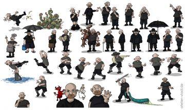 Sammlung-Cartoon-Vladi-kl