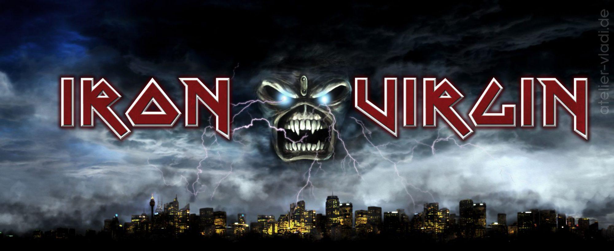 Skyline Blitze Stadt Eddy Iron Maiden Iron Virgin