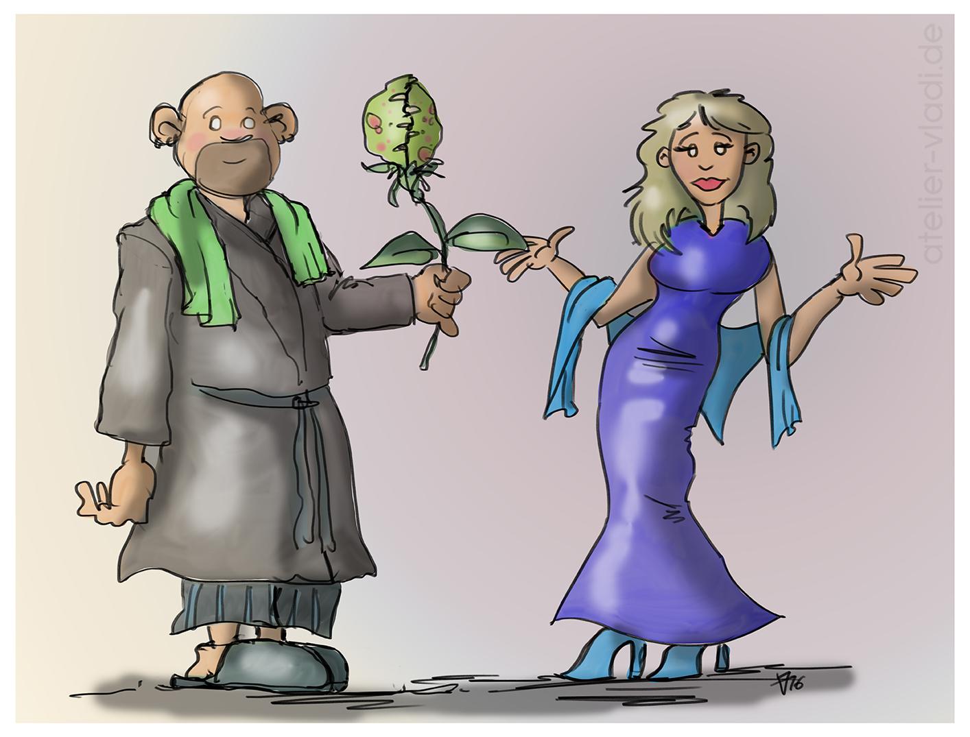 Vladi Cartoon Susanne Bexten Vargas