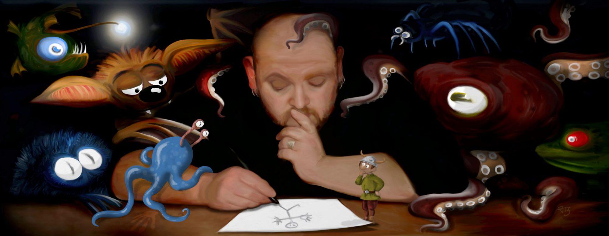Vladi Krafft - Maler, Illustrator, Grafiker, Künstler