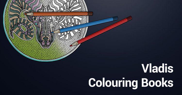 Vladis Malbücher Colouring Books
